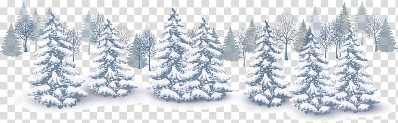 White snow.