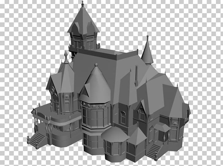 Middle Ages Facade Architecture Turret Product Design PNG.
