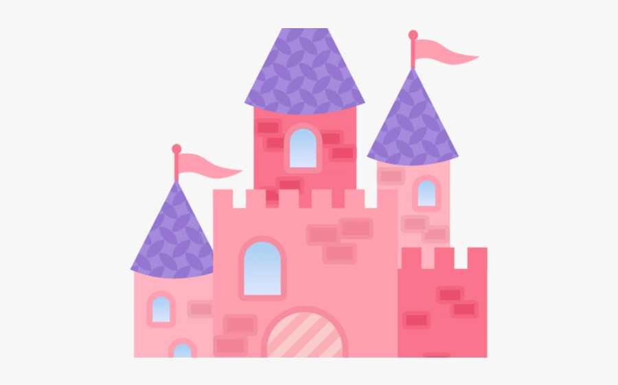 Cartoon Snow White Castle , Free Transparent Clipart.