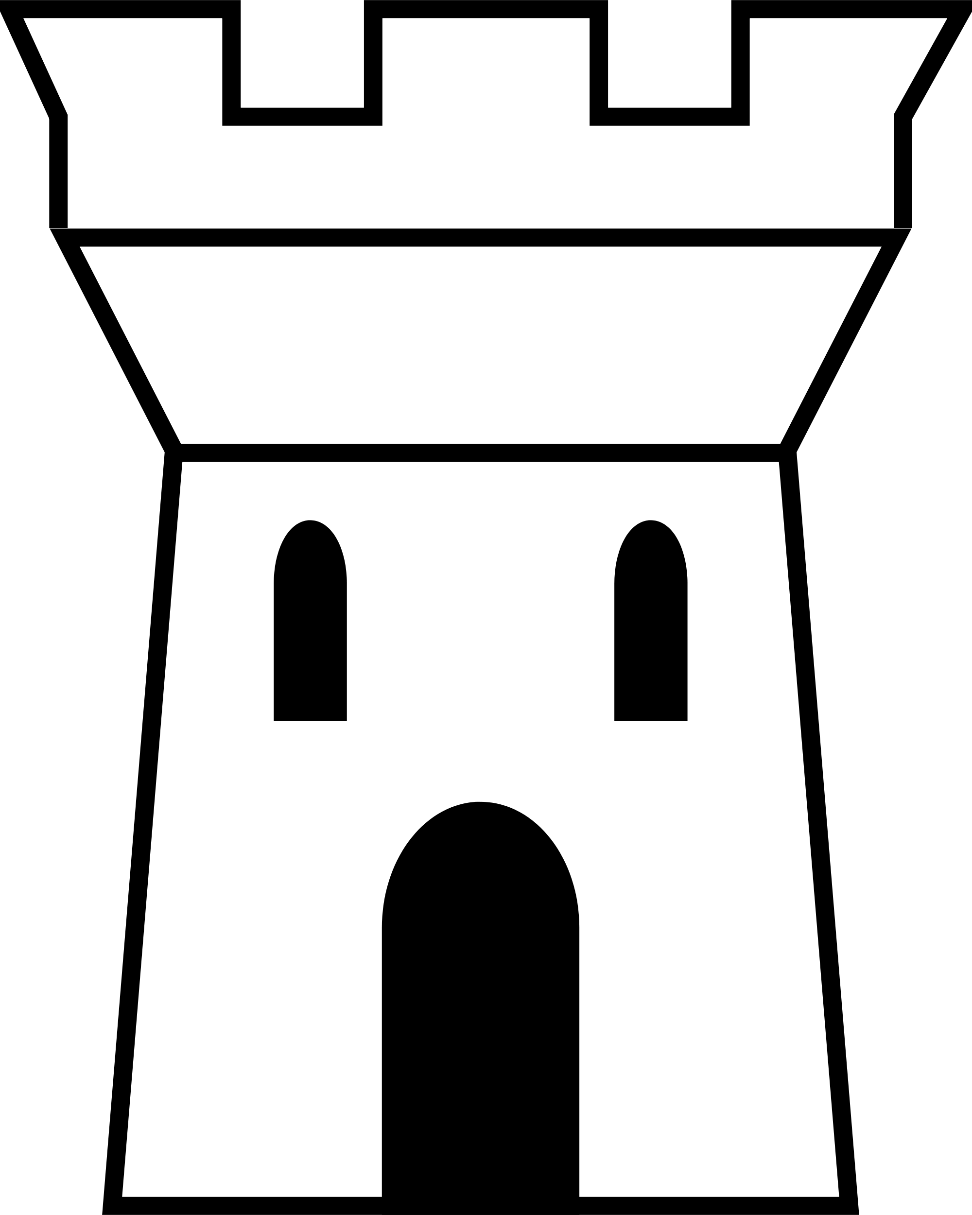 Tower clipart fortress, Tower fortress Transparent FREE for.