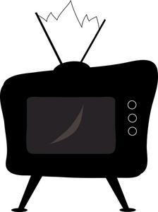 Television set clipart clipartfest.