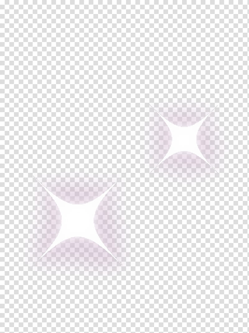 Mochi, two twinkling star arts transparent background PNG.