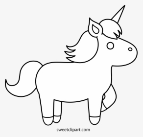 White Unicorn Clipart 3 By Charles.