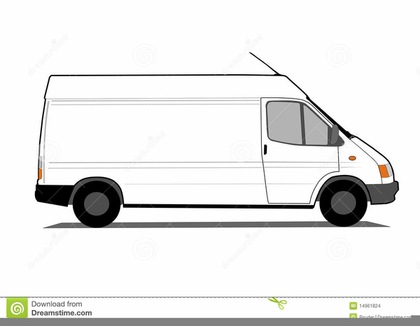 White Van Clipart Free.