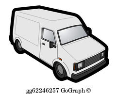 White Van Clip Art.