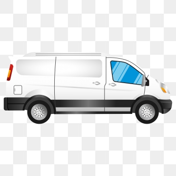 White Van Png, Vector, PSD, and Clipart With Transparent Background.