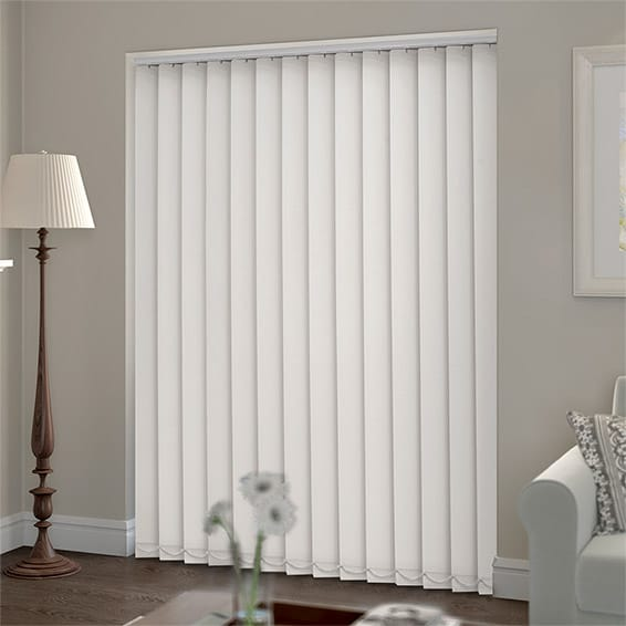 Serenity Shell Blockout Vertical Blind.