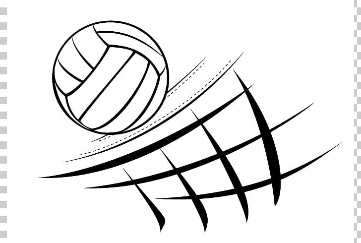 Beach volleyball Volleyball net , Volleyball PNG clipart.