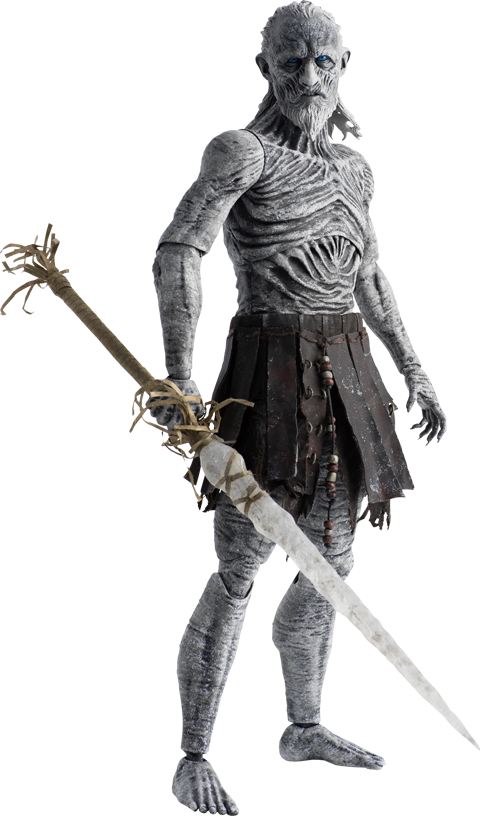 Game of Thrones White Walker Deluxe Version Sixth Scale Figu.