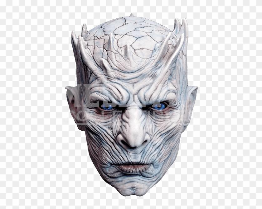White Walker Mask, HD Png Download.