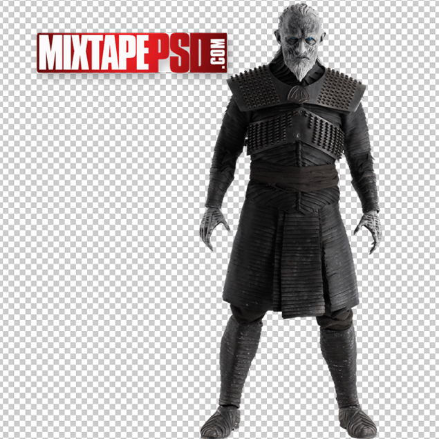 HD White Walker Night King Game Of Thrones Cut PNG.