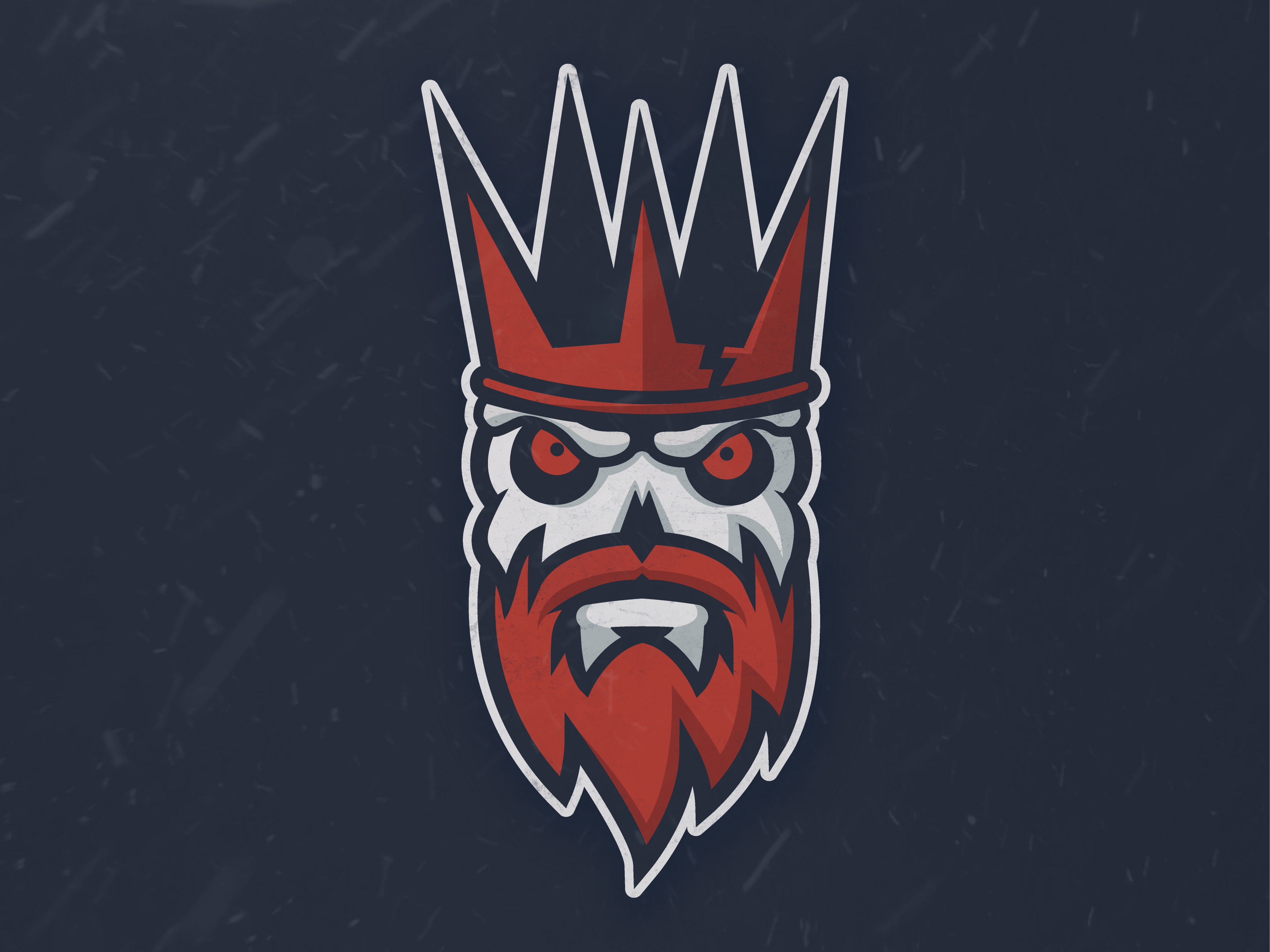 Sports Logo inspired by the White Walkers from Game of.