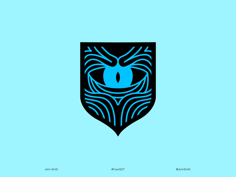 WHITE WALKERS SIGIL by Math Palma on Dribbble.