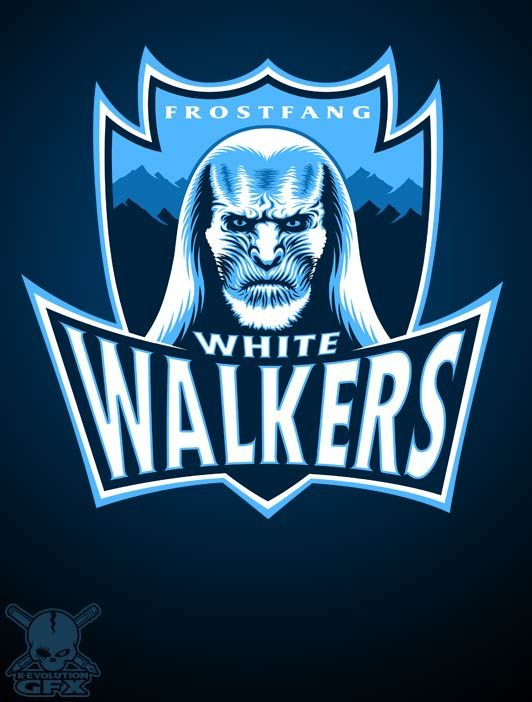 White walkers by R.