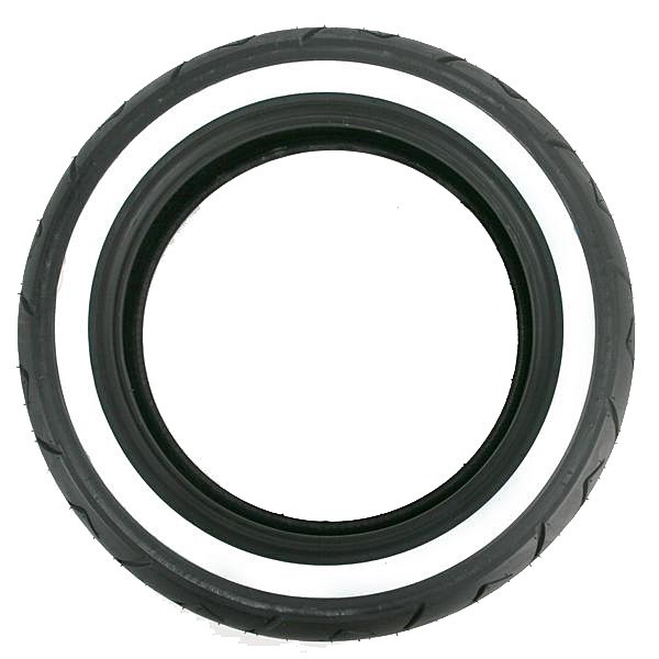Bridgestone Exedra G702 White Wall Rear Tire.