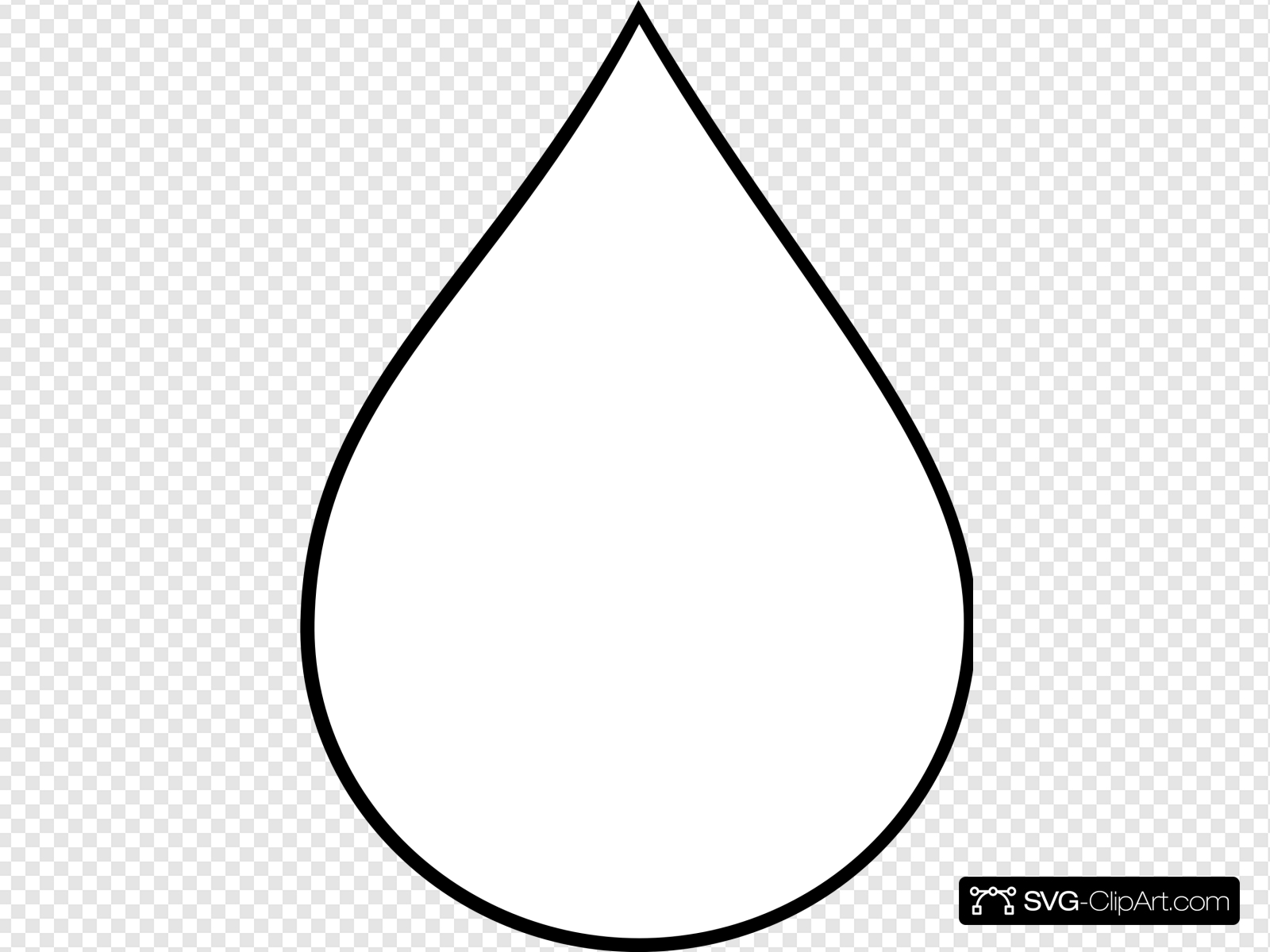 Water Droplet Clip art, Icon and SVG.