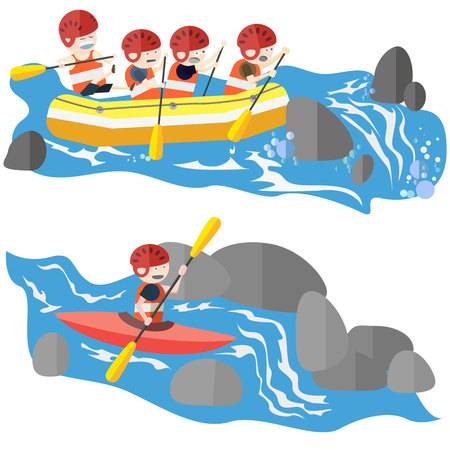 505 White Water Rafting Stock Illustrations, Cliparts And Royalty.