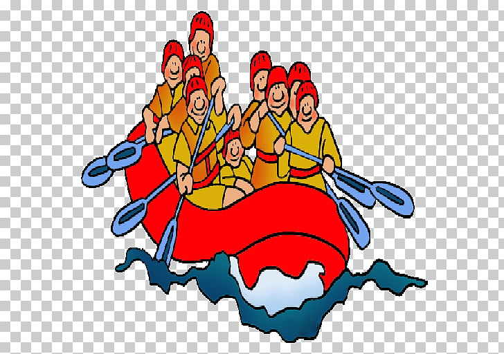 Rafting Whitewater , River rafting PNG clipart.