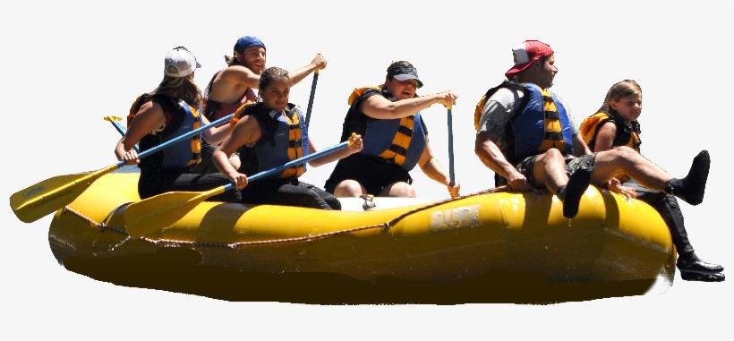 Rafting Png Image.