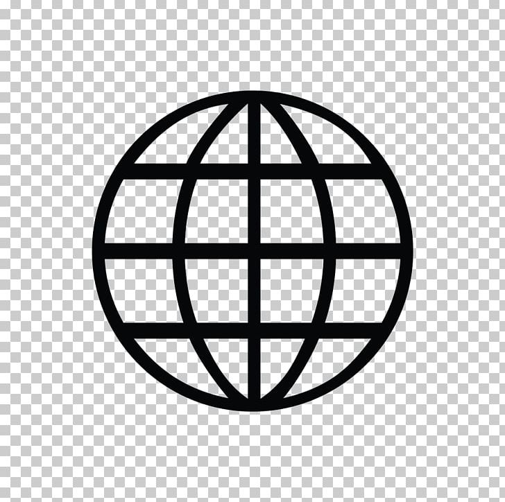 World Wide Web Symbol Icon PNG, Clipart, Area, Black And White.