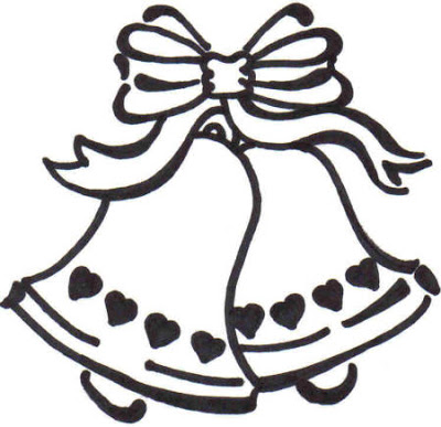 Clipart Of Wedding Bells.
