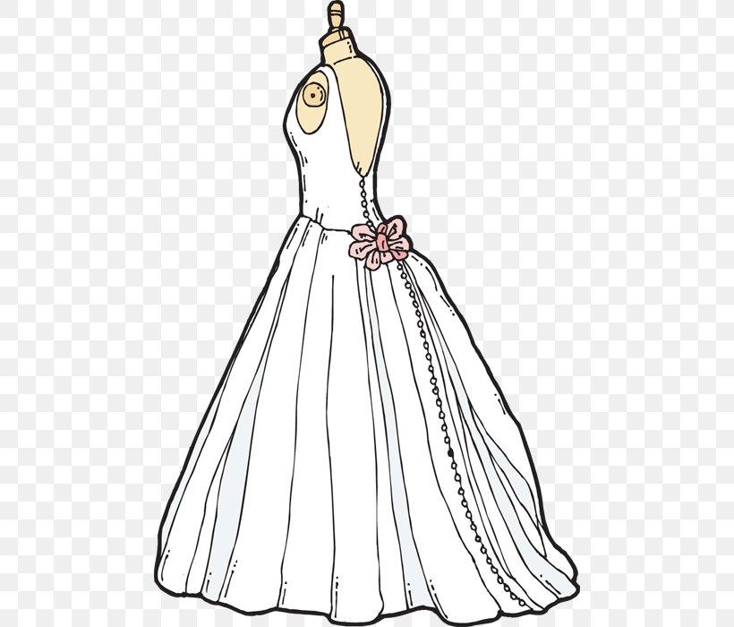 Bridesmaid Wedding Dress Clip Art, PNG, 476x700px.