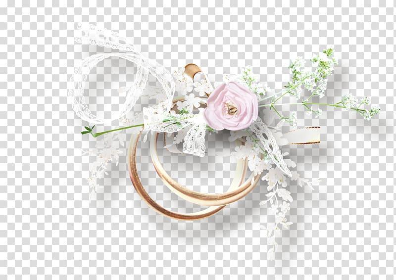 Wedding Flower bouquet , Wedding White Flower Ornament.