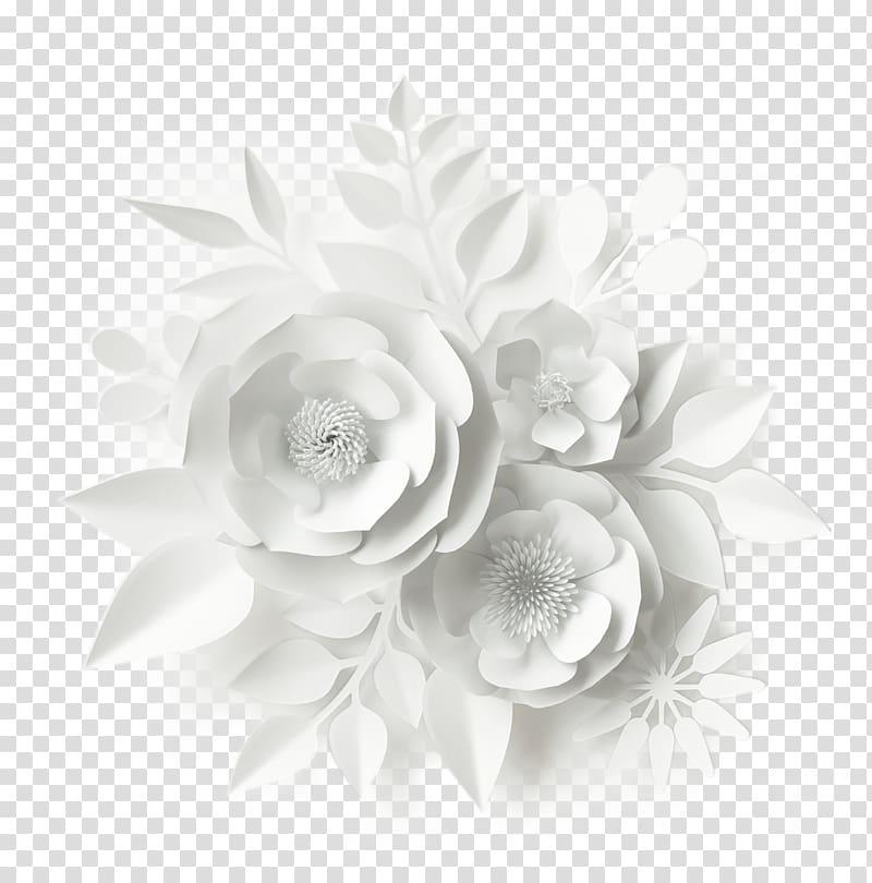 Paper Wedding invitation Flower bouquet, wedding transparent.