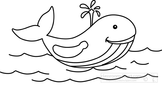 Free Black And White Whale Clipart, Download Free Clip Art.