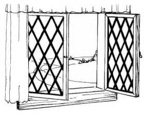 White window clipart #3