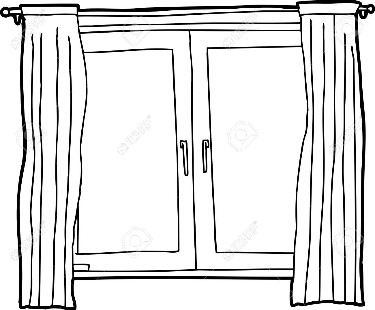 White window clipart #6