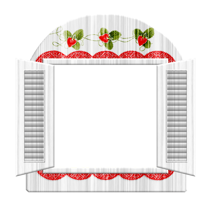 White Window Frame.