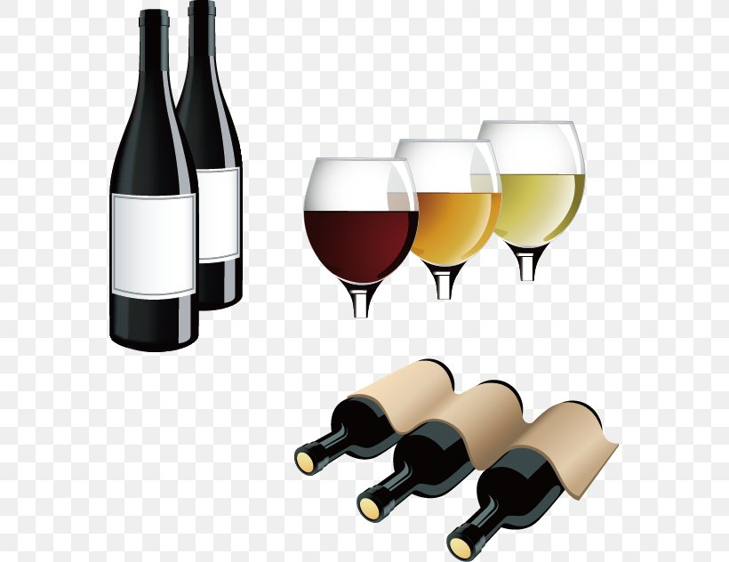 Red Wine White Wine Bottle Clip Art, PNG, 573x632px, Red.