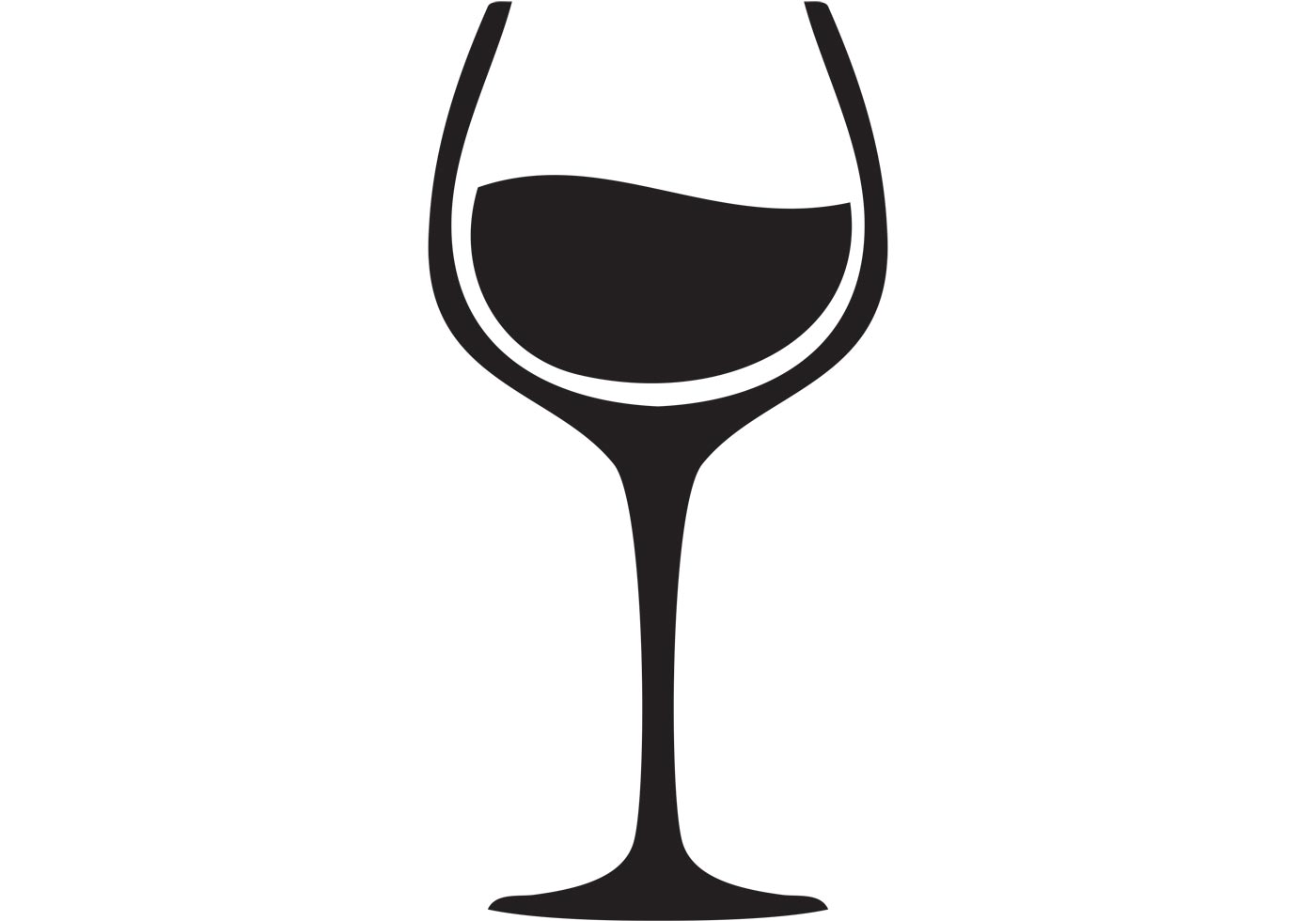 6063 Wine free clipart.