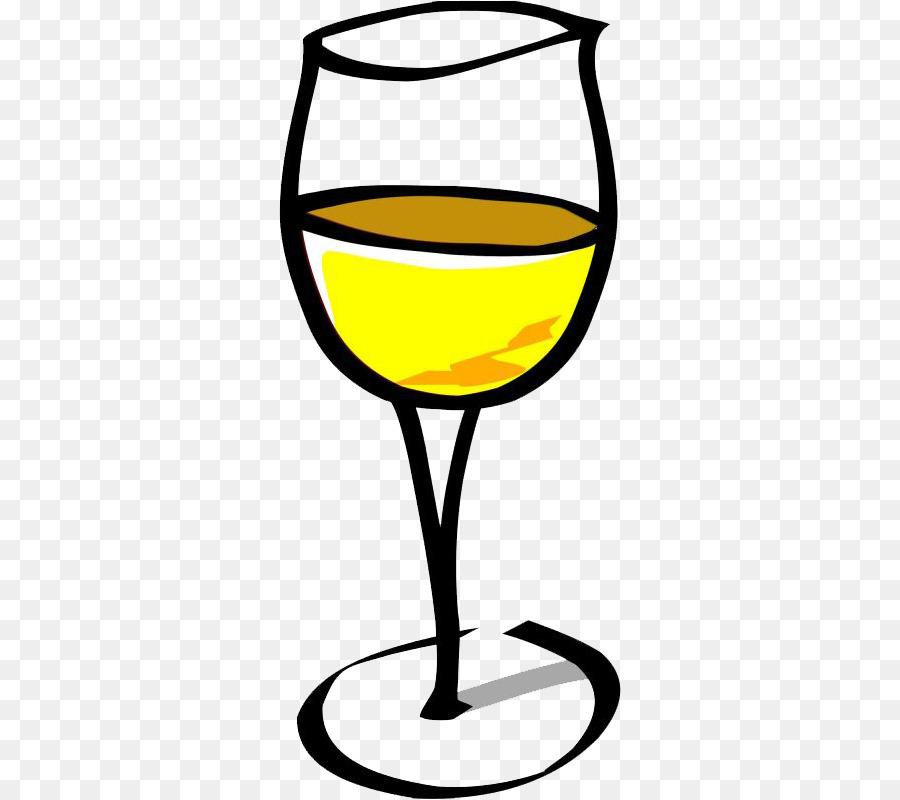 White wine Wine glass Clip art.
