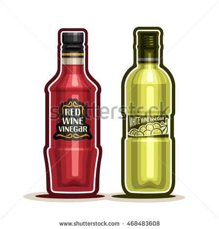 White Wine Vinegar Stock Photos, Royalty.