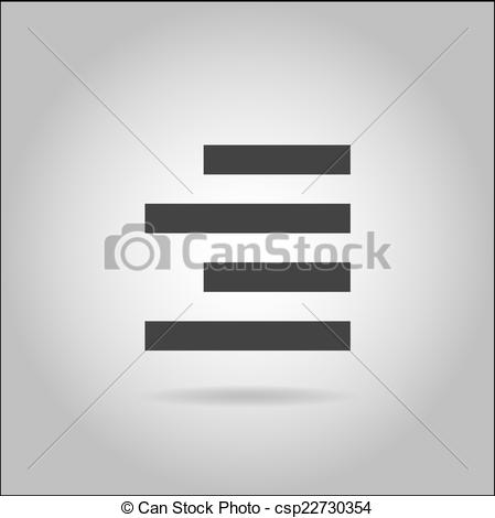 Clipart Vector of Illustration on grey background with shadow.