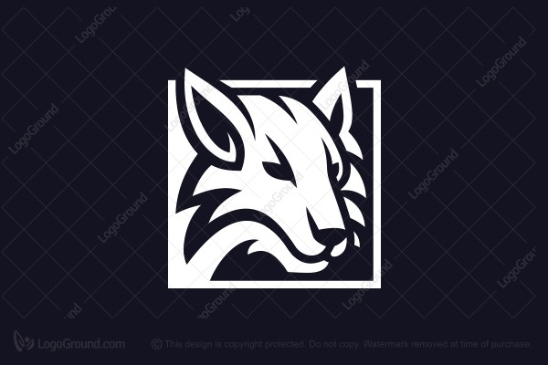Exclusive Logo 157771, White Wolf Logo.