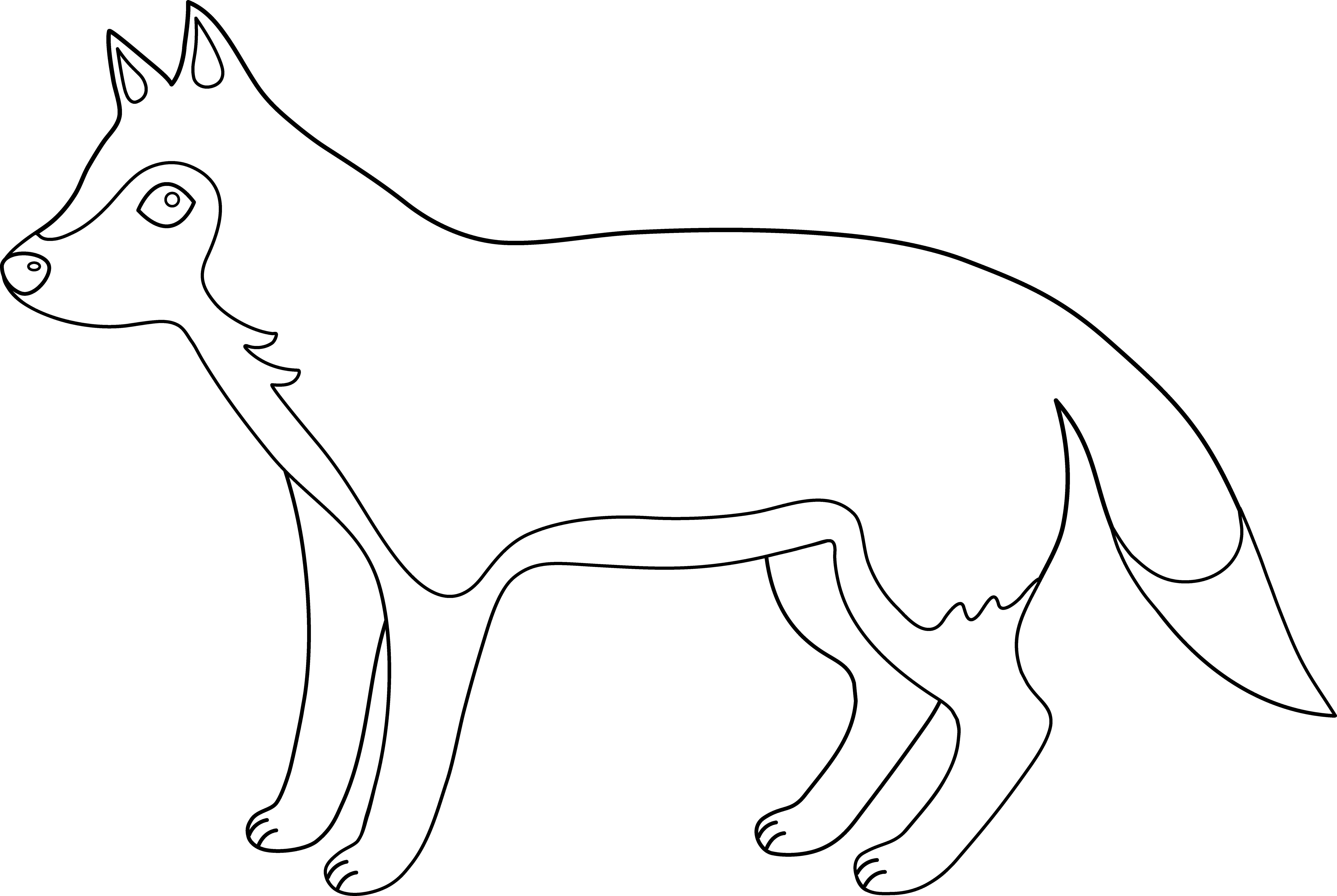 Free Wolf Clipart Clip art of Wolf Clipart #1651 — Clipartwork.