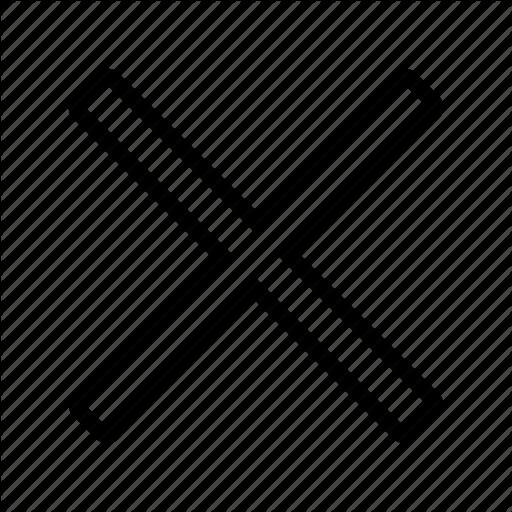 X Icon White #36096.