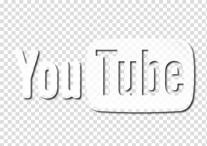White YouTube logo, YouTube Digital marketing Social video.