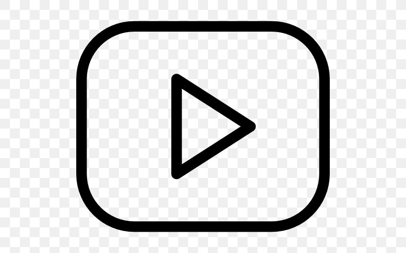 YouTube Logo Clip Art, PNG, 512x512px, Youtube, Area, Black.
