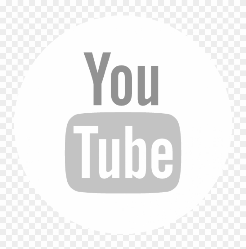 White Youtube Logo Transparent.