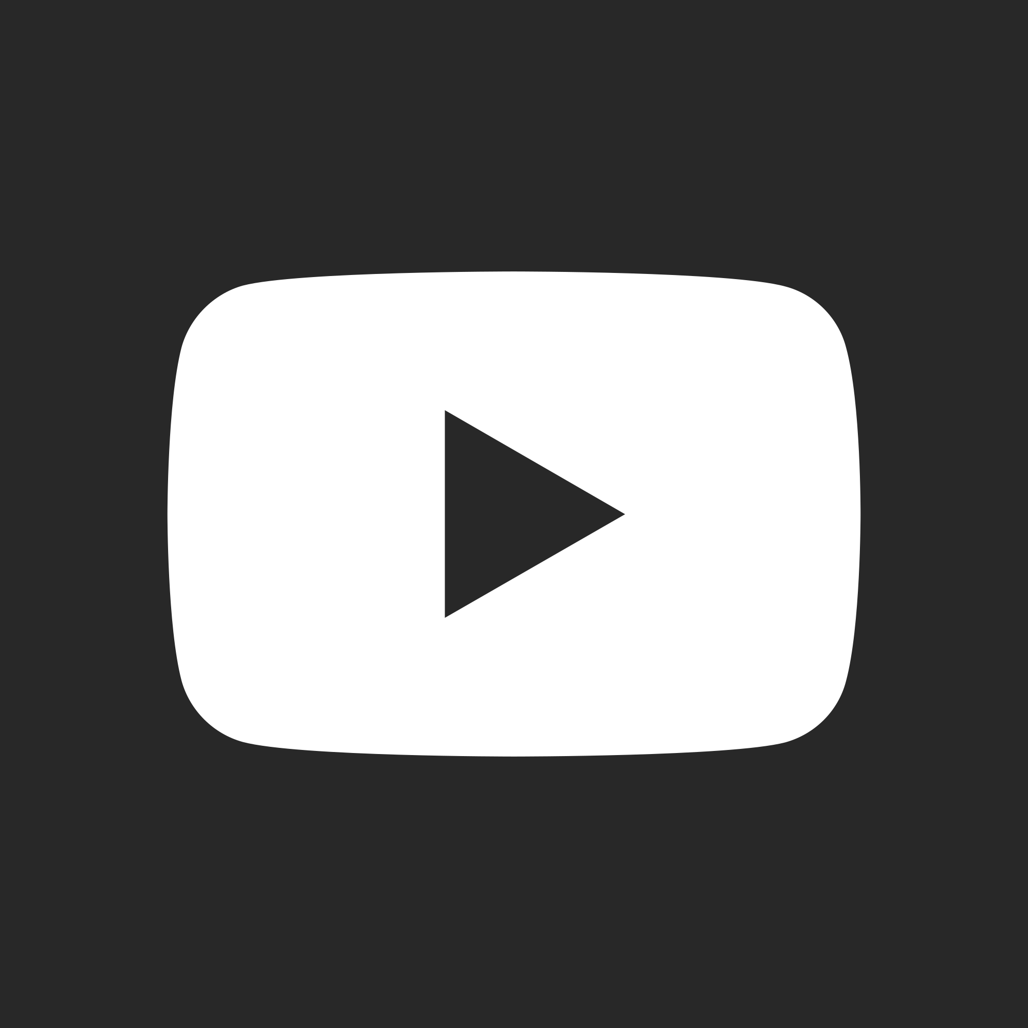 White Youtube Icon Png (+).
