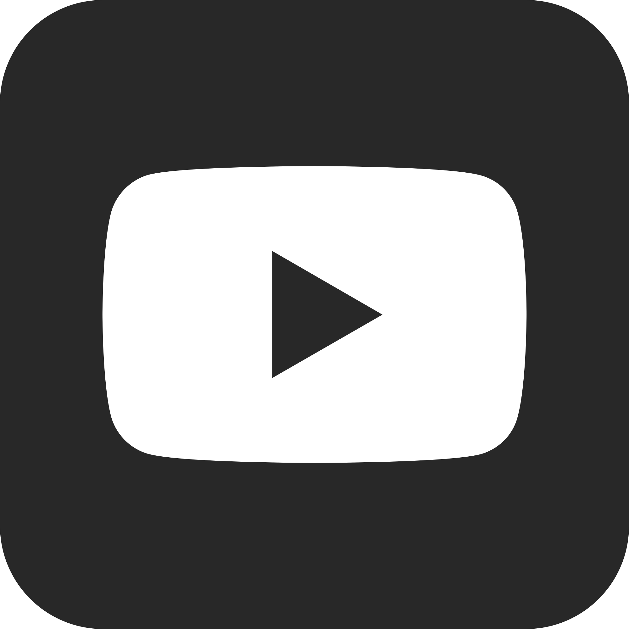 Youtube Icon Png White #161214.