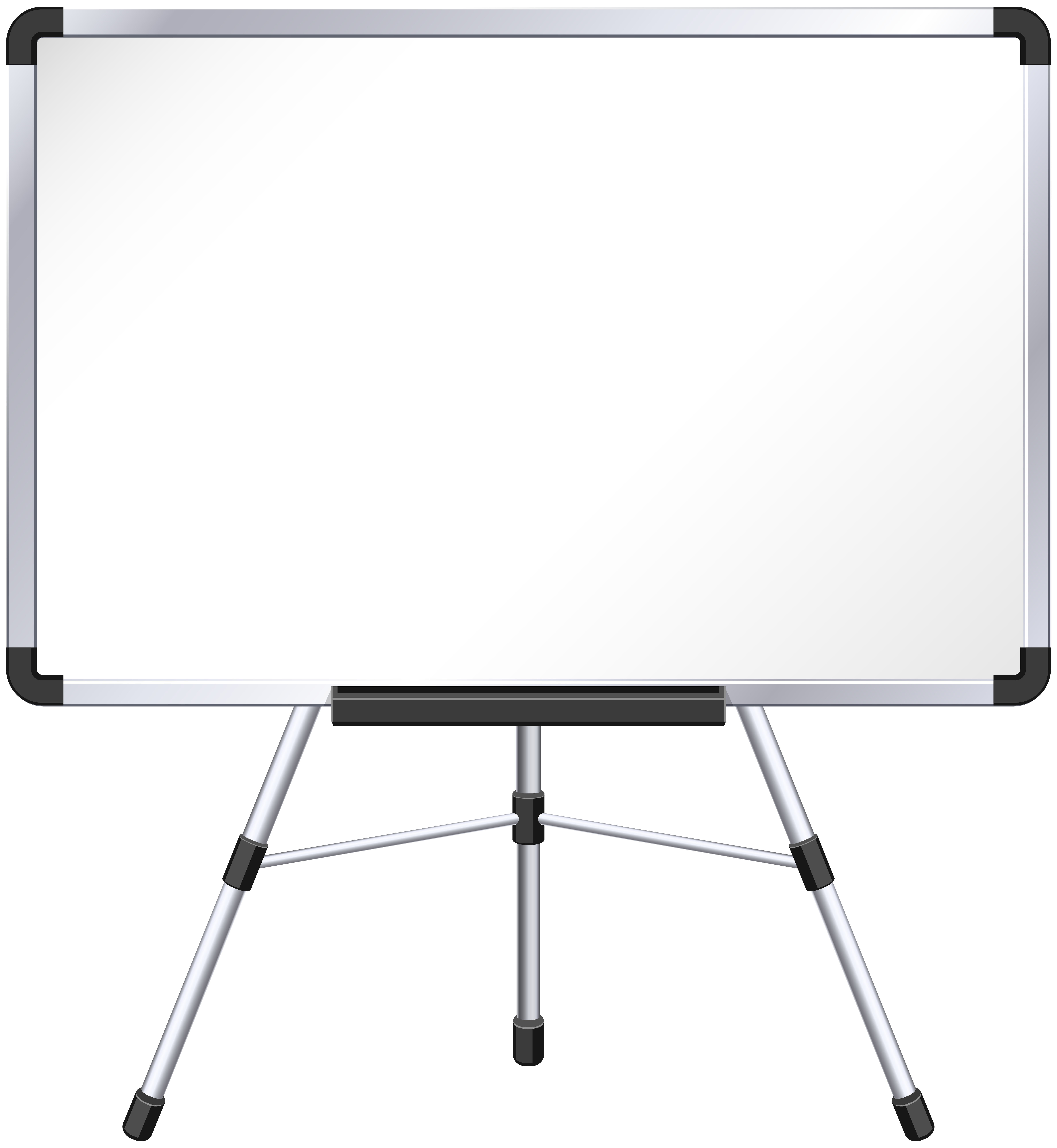 Whiteboard PNG Clip Art Image.