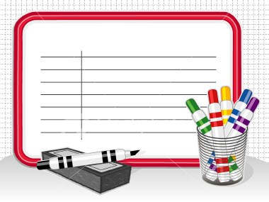Whiteboard and pen clipart 6 » Clipart Portal.