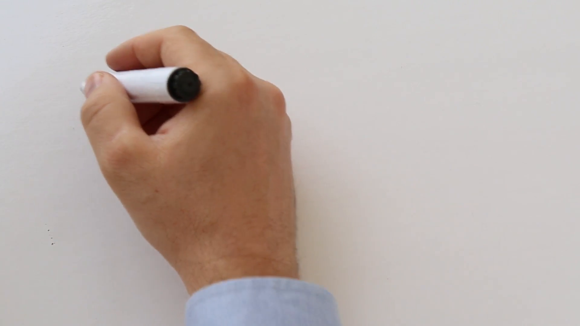 Whiteboard animation business plan Stock Video Footage.
