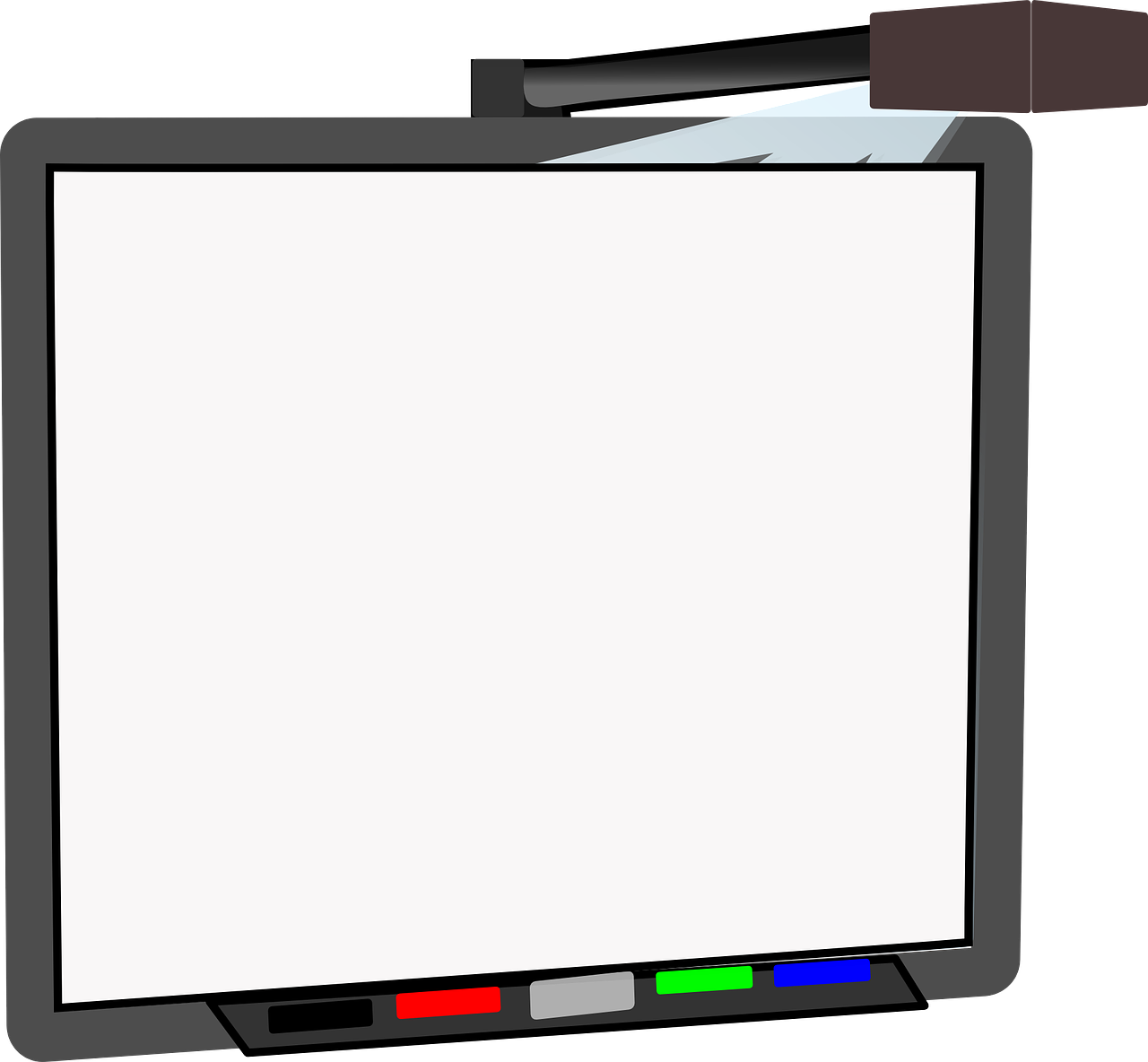 Clipart whiteboard.