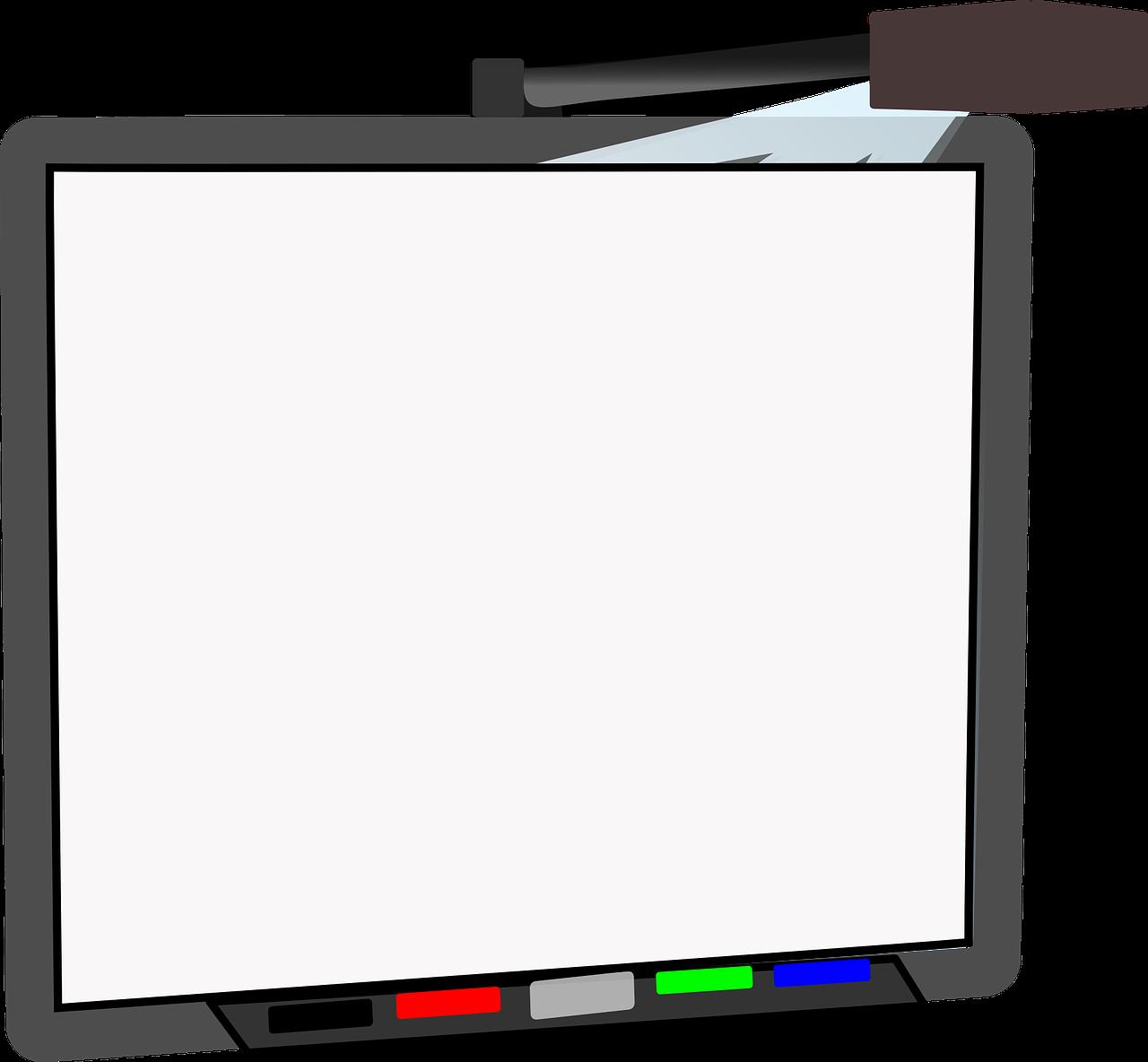 Clipart whiteboard.